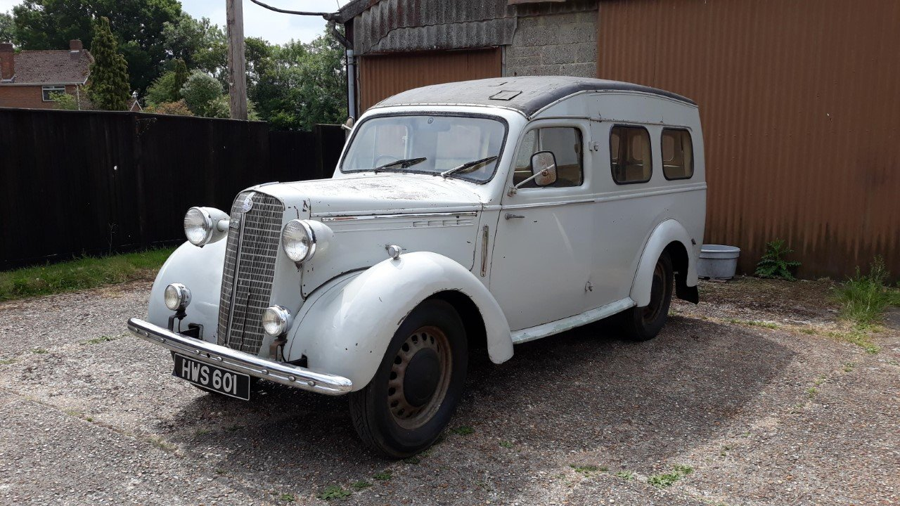 1951 Bedford PC van For Sale (picture 1 of 6)