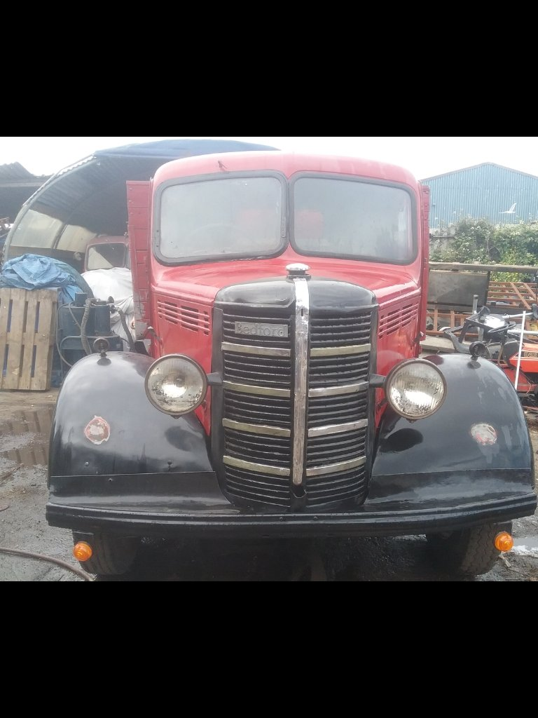 1949 Bedford o TYPE tipper For Sale (picture 1 of 6)