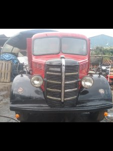 1949 Bedford o TYPE tipper