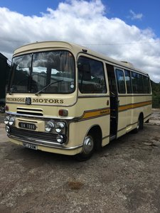 Bedford Vas Plaxton historic bus coach