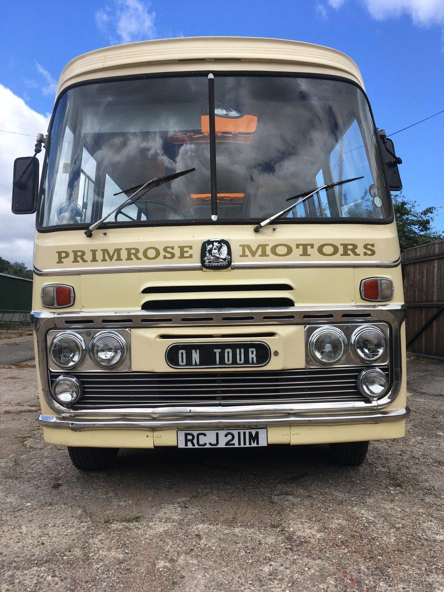 1974 Bedford Vas Plaxton historic bus coach For Sale (picture 2 of 6)