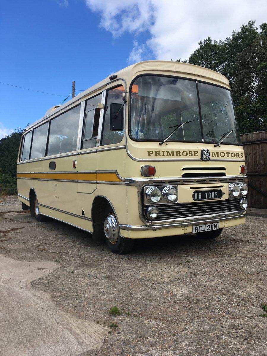 1974 Bedford Vas Plaxton historic bus coach For Sale (picture 3 of 6)