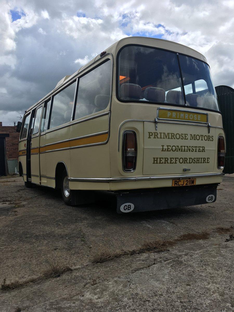 1974 Bedford Vas Plaxton historic bus coach For Sale (picture 4 of 6)