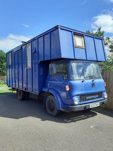 Converted Bedford Horse Truck