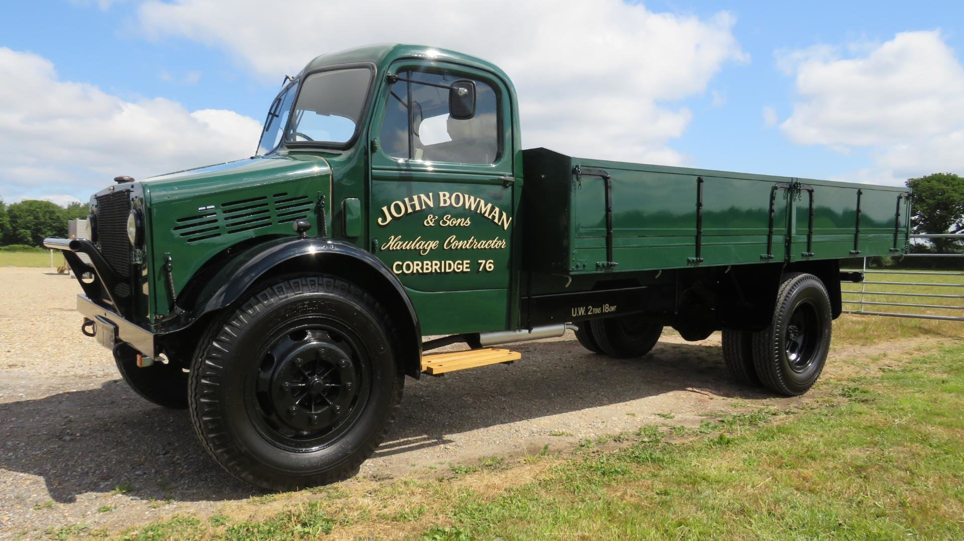 1943 Bedford OWLD TRUCK DROP SIDE BODY RESTORED For Sale (picture 1 of 1)