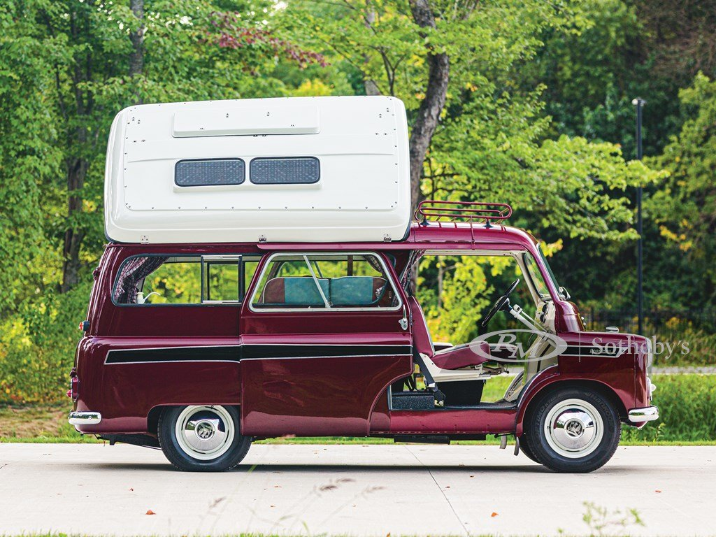 1961 Bedford CA Dormobile Caravan by Martin-Walter For Sale by Auction (picture 5 of 6)