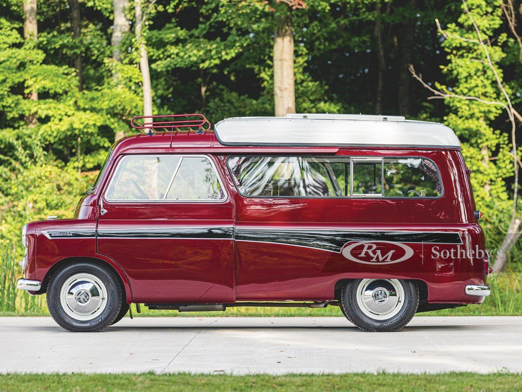 1961 Bedford CA Dormobile Caravan by Martin-Walter For Sale by Auction (picture 6 of 6)