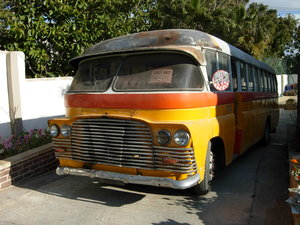 Picture of 1955 Maltese Bus Bedford