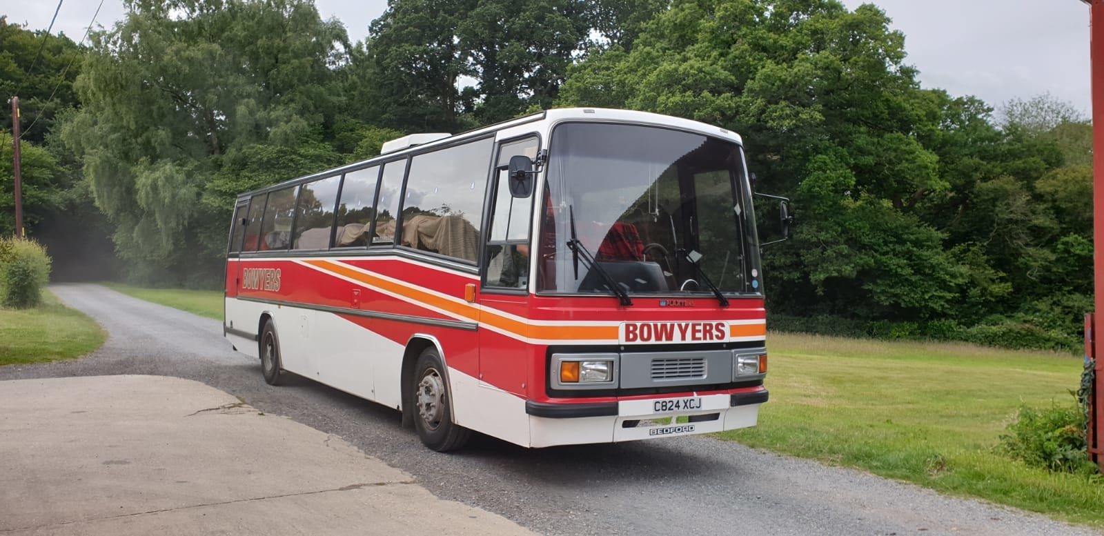 1986 Bedford YNT PLAXTON For Sale (picture 1 of 6)