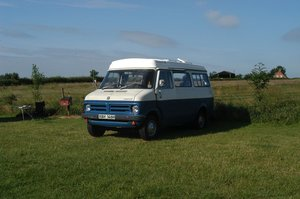 Picture of 1970 Bedford Romany campervan