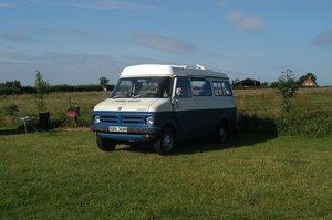 Bedford Romany campervan