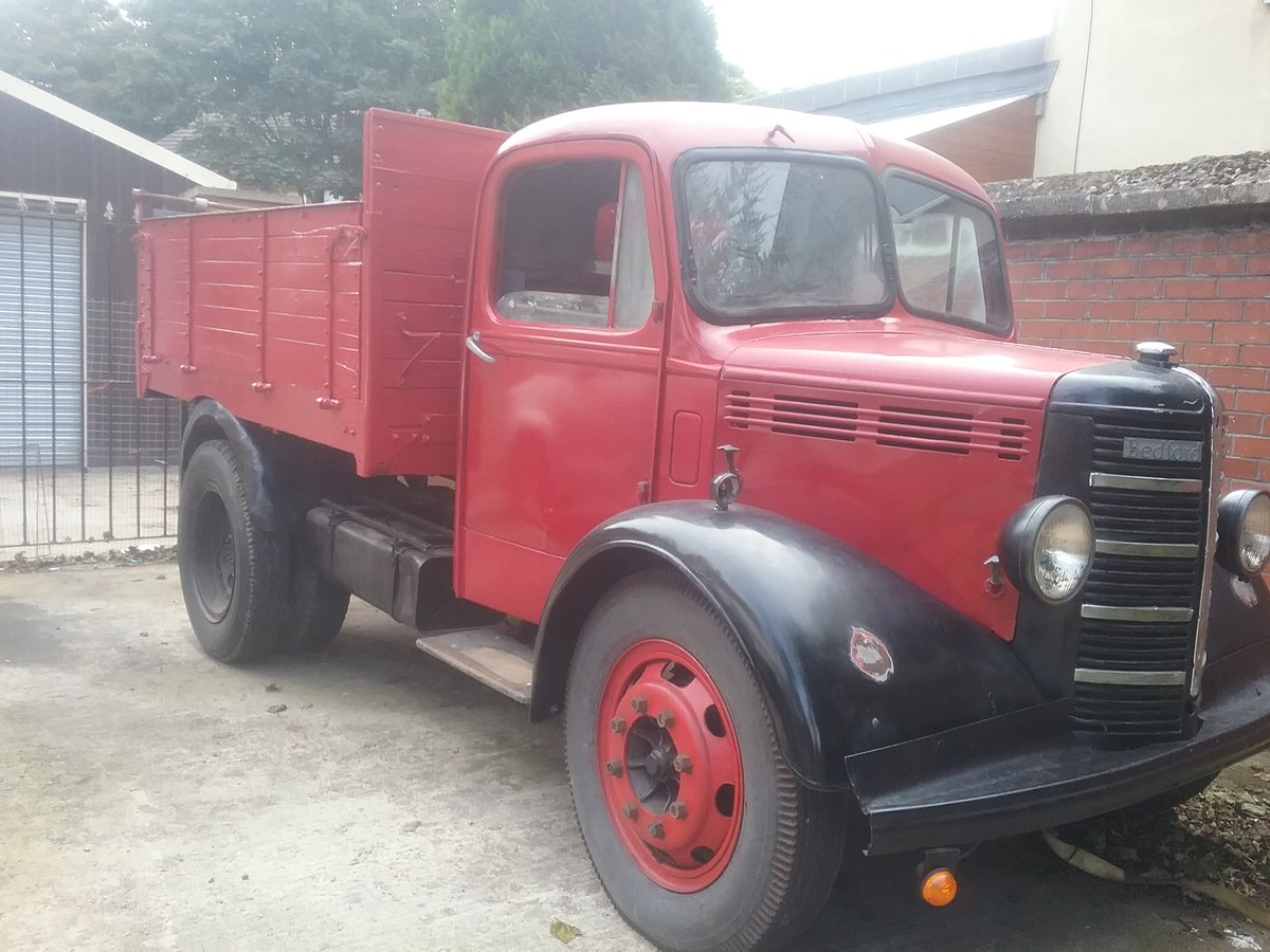 1949 Bedford o TYPE tipper For Sale (picture 5 of 6)