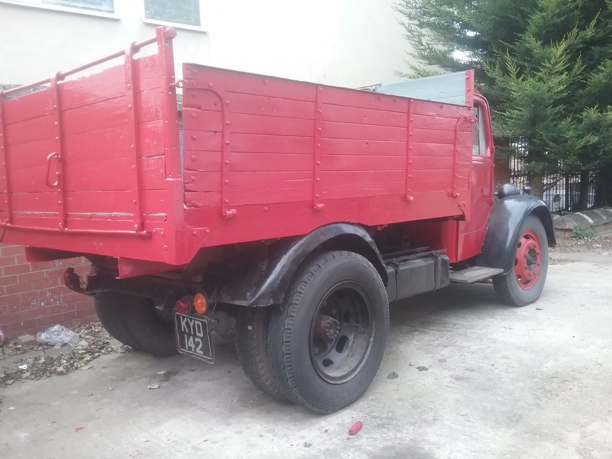 1949 Bedford o TYPE tipper For Sale (picture 6 of 6)