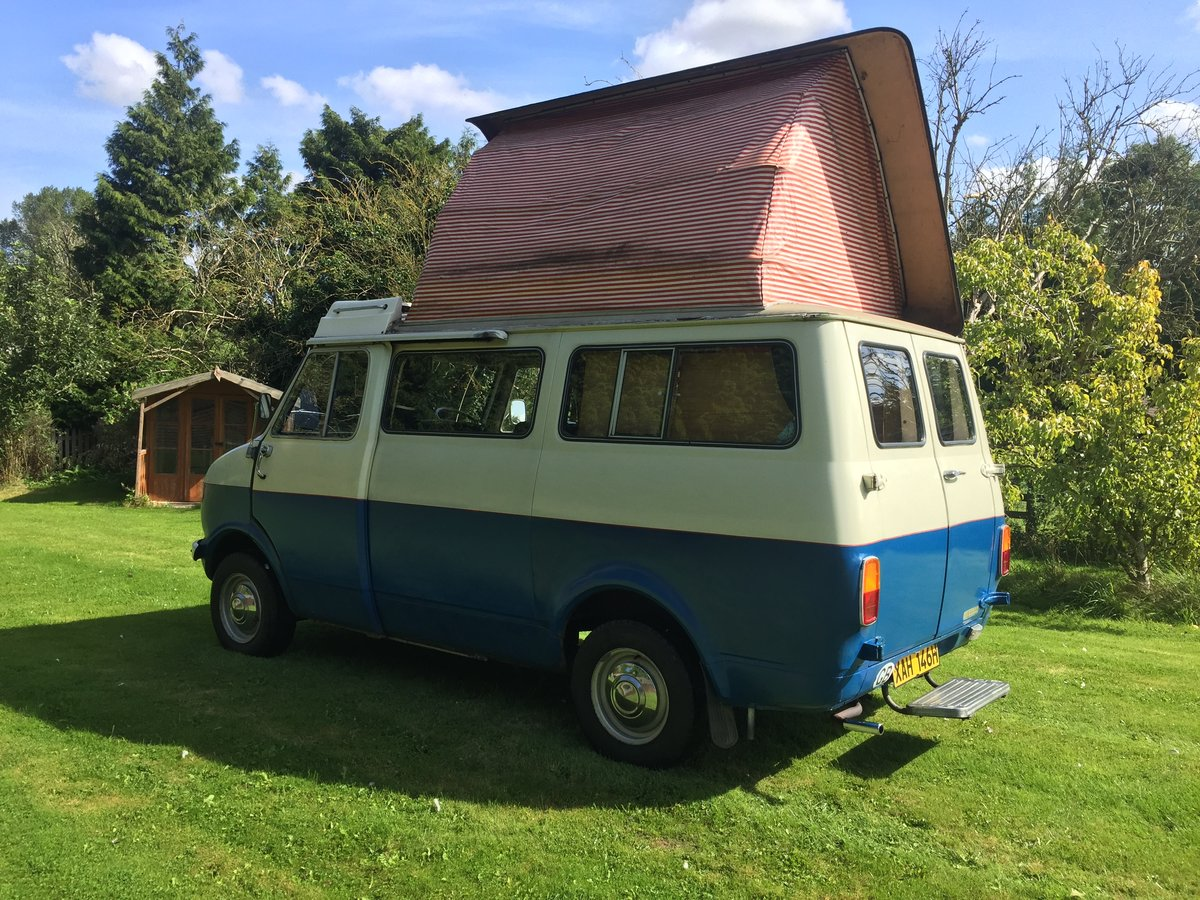 1970 Bedford CF Dormobile Romany Mk2 SOLD (picture 2 of 6)