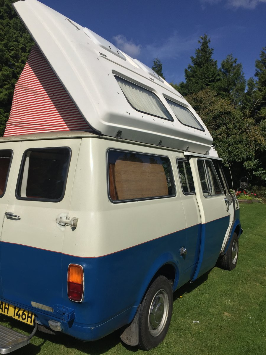 1970 Bedford CF Dormobile Romany Mk2 SOLD (picture 3 of 6)