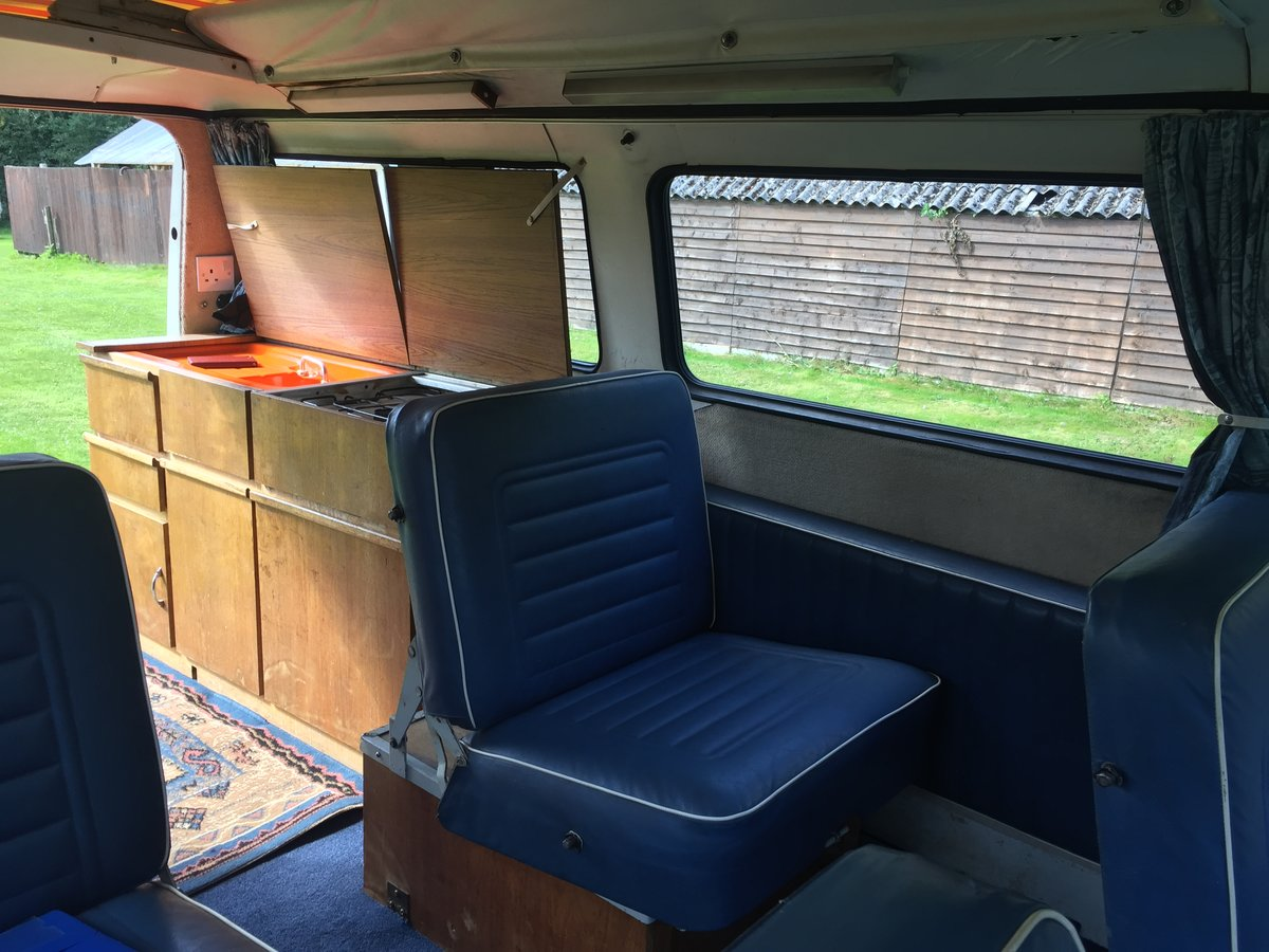 1970 Bedford CF Dormobile Romany Mk2 SOLD (picture 4 of 6)