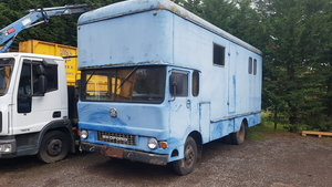 Very rare TK removal lorry convert to horse box