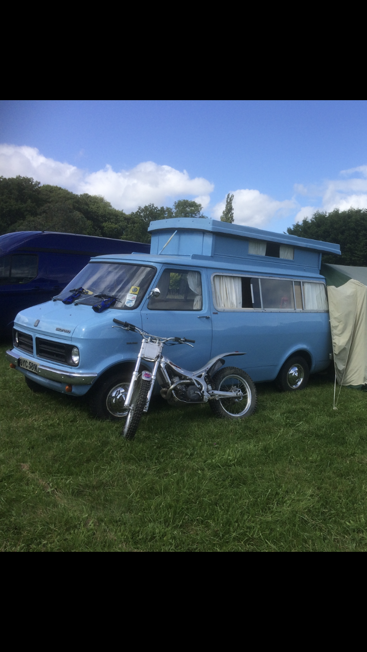 1972 Bedford CF 1 Auto sleeper For Sale (picture 1 of 1)