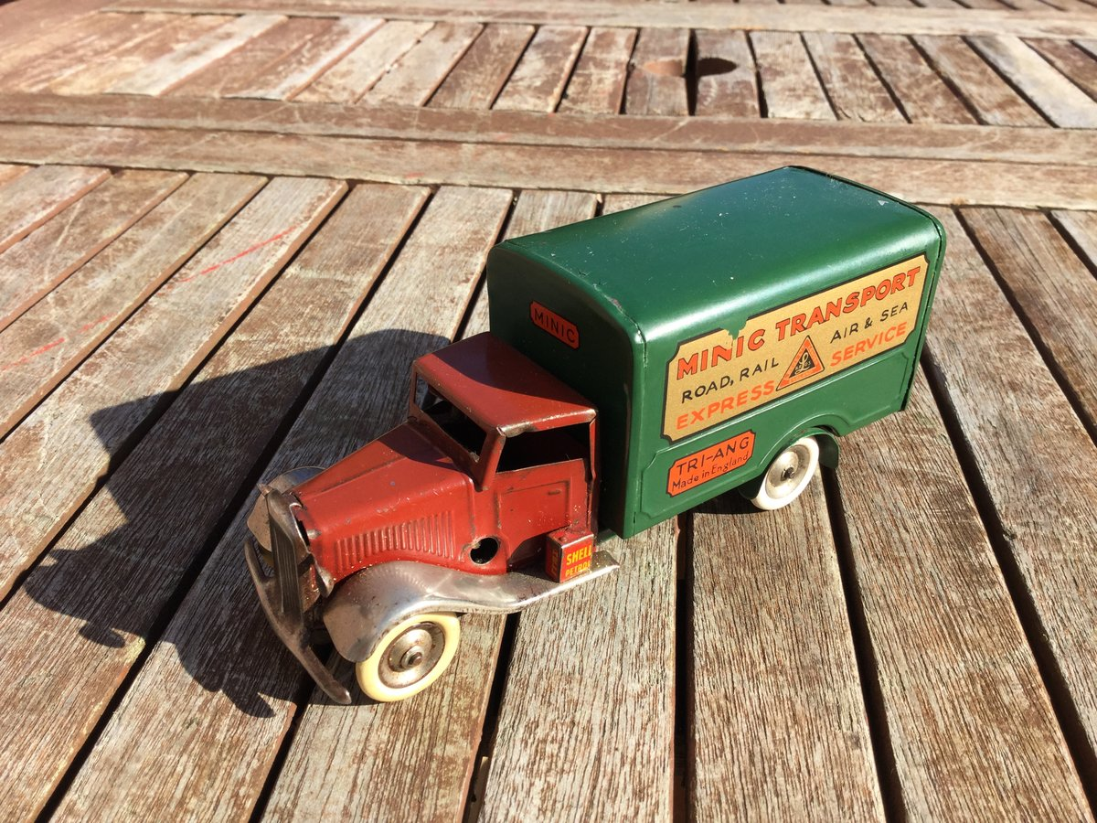 Tri-ang minic clockwork Bedford lorry For Sale (picture 1 of 5)