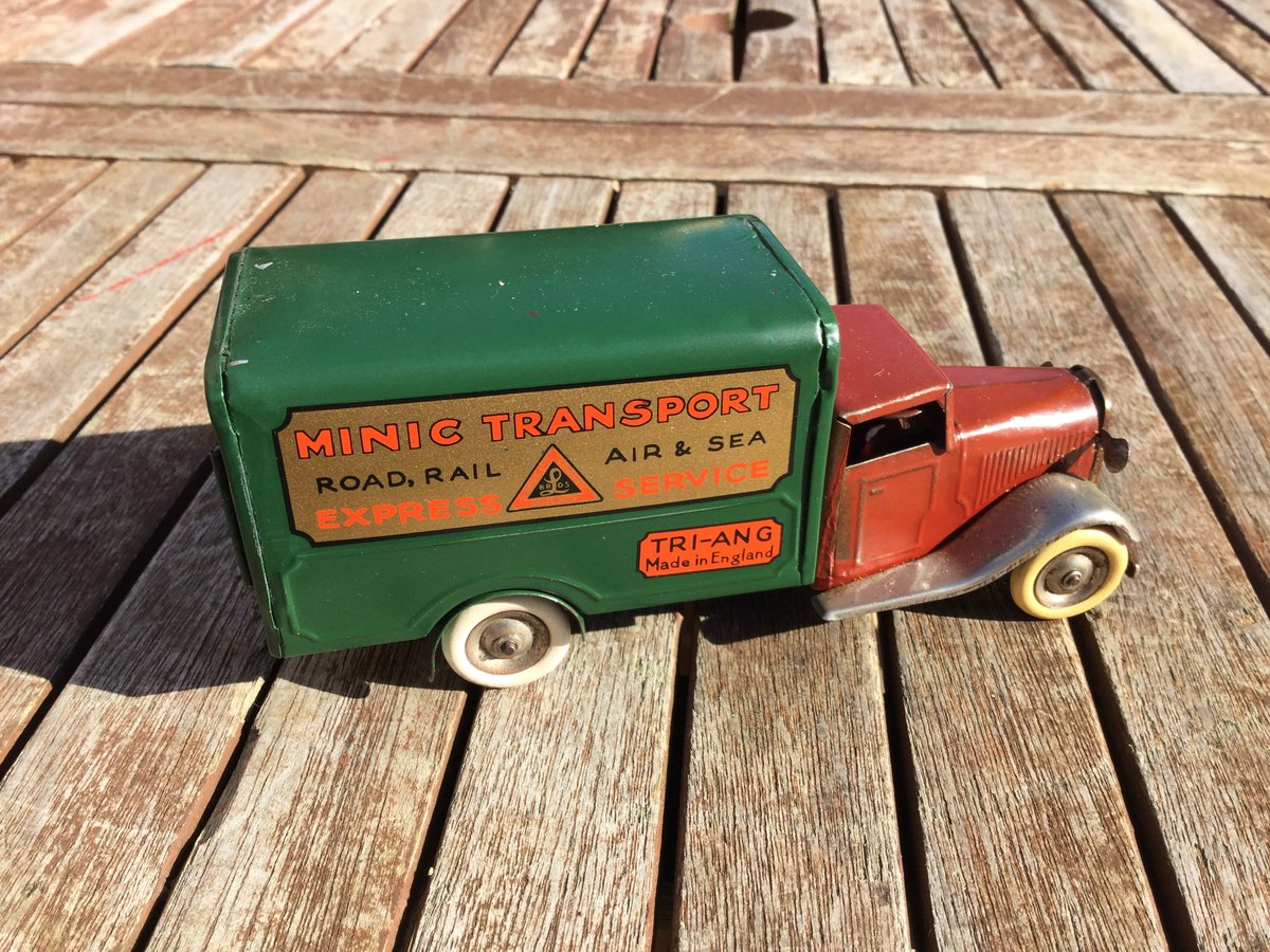 Tri-ang minic clockwork Bedford lorry For Sale (picture 2 of 5)
