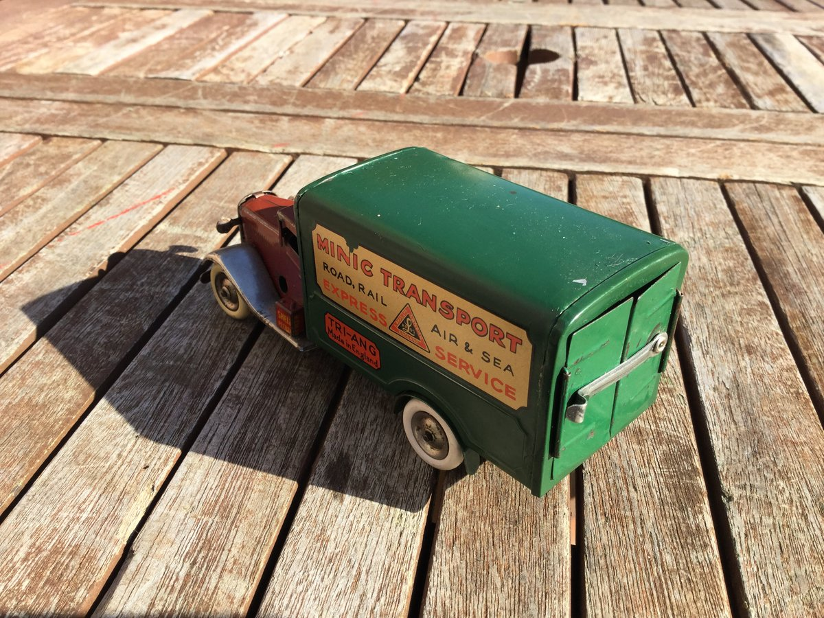 Tri-ang minic clockwork Bedford lorry For Sale (picture 5 of 5)