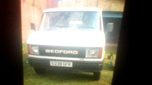 Bedford cf2  panel van  2.0 petrol