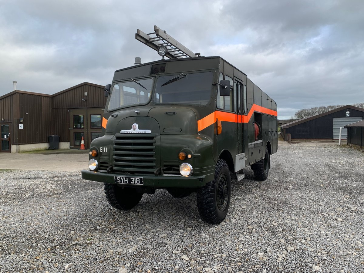 1957 Bedford® Green Goddess Fire Engine *Low Mileage* (SYH) For Sale (picture 2 of 6)