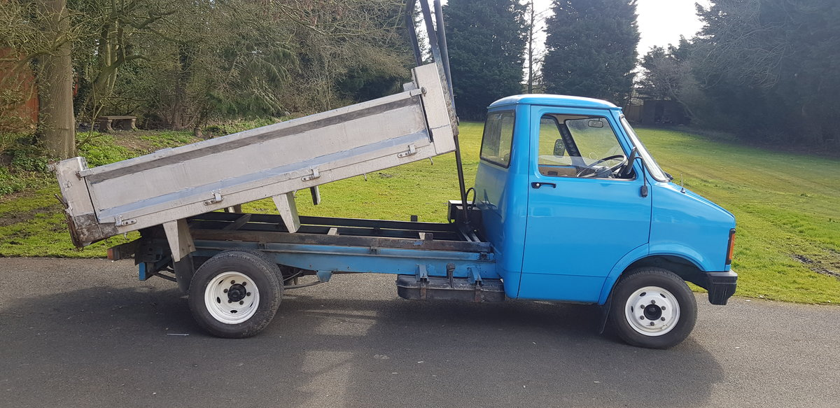 1984 BEDFORD CF PETROL TIPPER For Sale (picture 1 of 12)