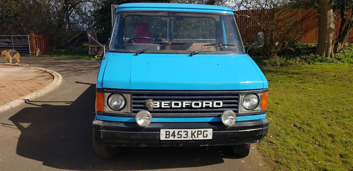 1984 BEDFORD CF PETROL TIPPER For Sale (picture 3 of 12)