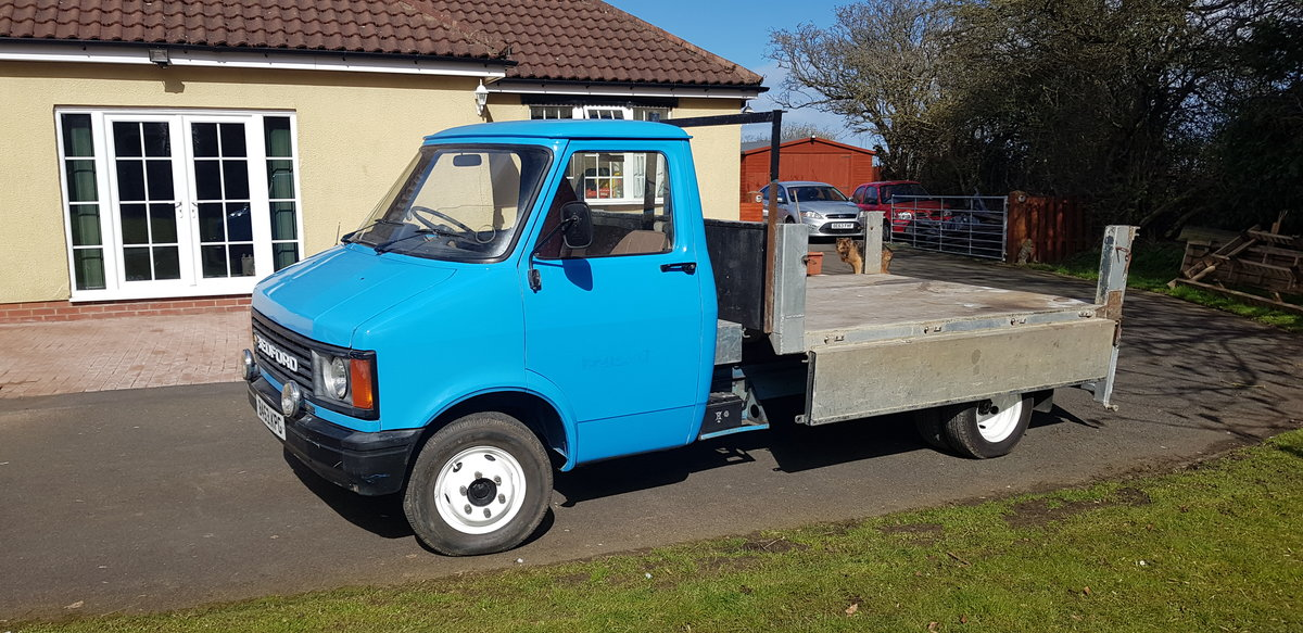1984 BEDFORD CF PETROL TIPPER For Sale (picture 4 of 12)