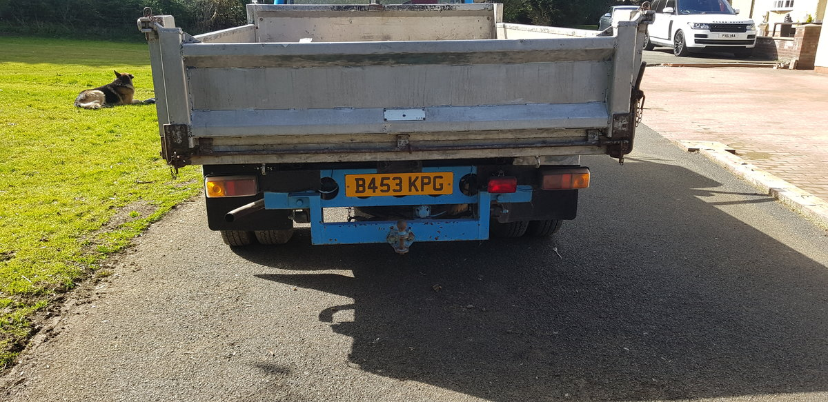 1984 BEDFORD CF PETROL TIPPER For Sale (picture 8 of 12)