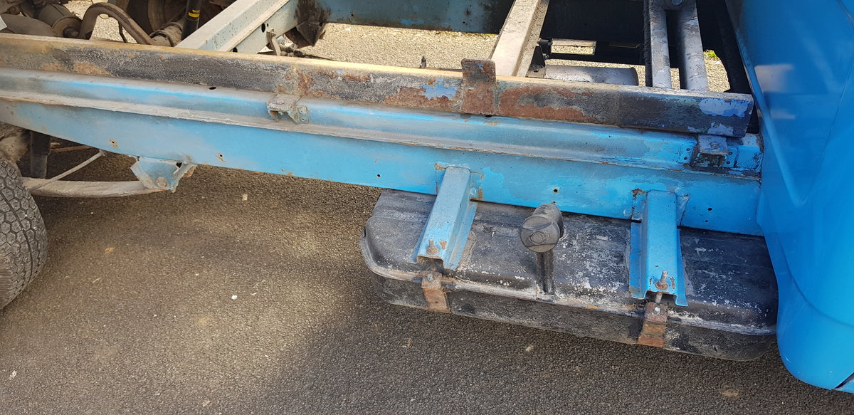 1984 BEDFORD CF PETROL TIPPER For Sale (picture 9 of 12)