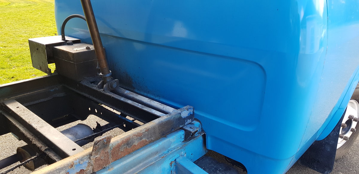 1984 BEDFORD CF PETROL TIPPER For Sale (picture 11 of 12)