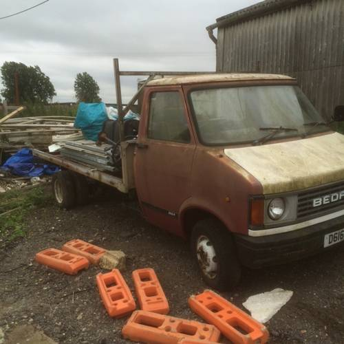1986 Restoration Project Bedford CF truck with loads of spares For Sale (picture 6 of 6)