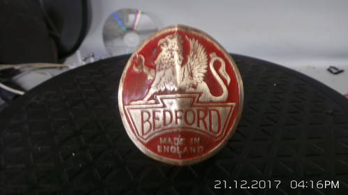 2002 bedford  badge 1940s approx For Sale (picture 2 of 3)