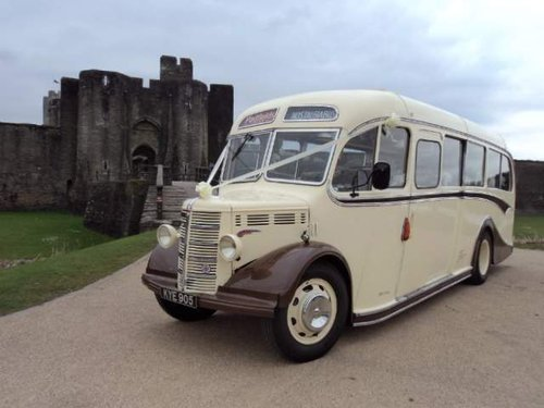 1950 Bedford OB Bus For Sale (picture 1 of 6)