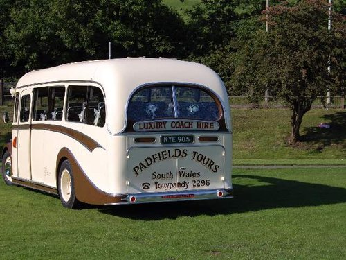 1950 Bedford OB Bus For Sale (picture 4 of 6)
