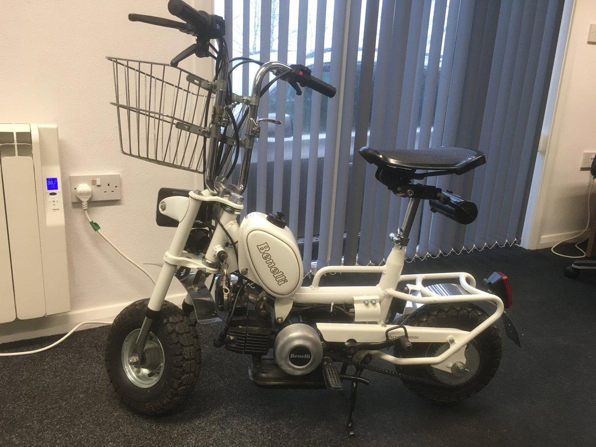 1992 Beautiful little Benelli Monkey Bike For Sale (picture 1 of 4)