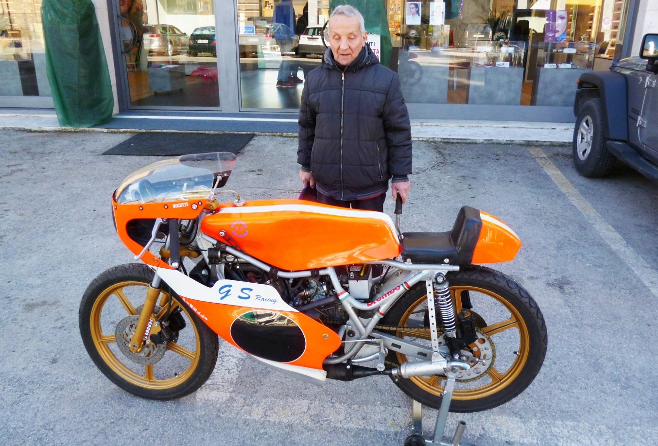 1972 MBA 125 racing For Sale (picture 1 of 6)
