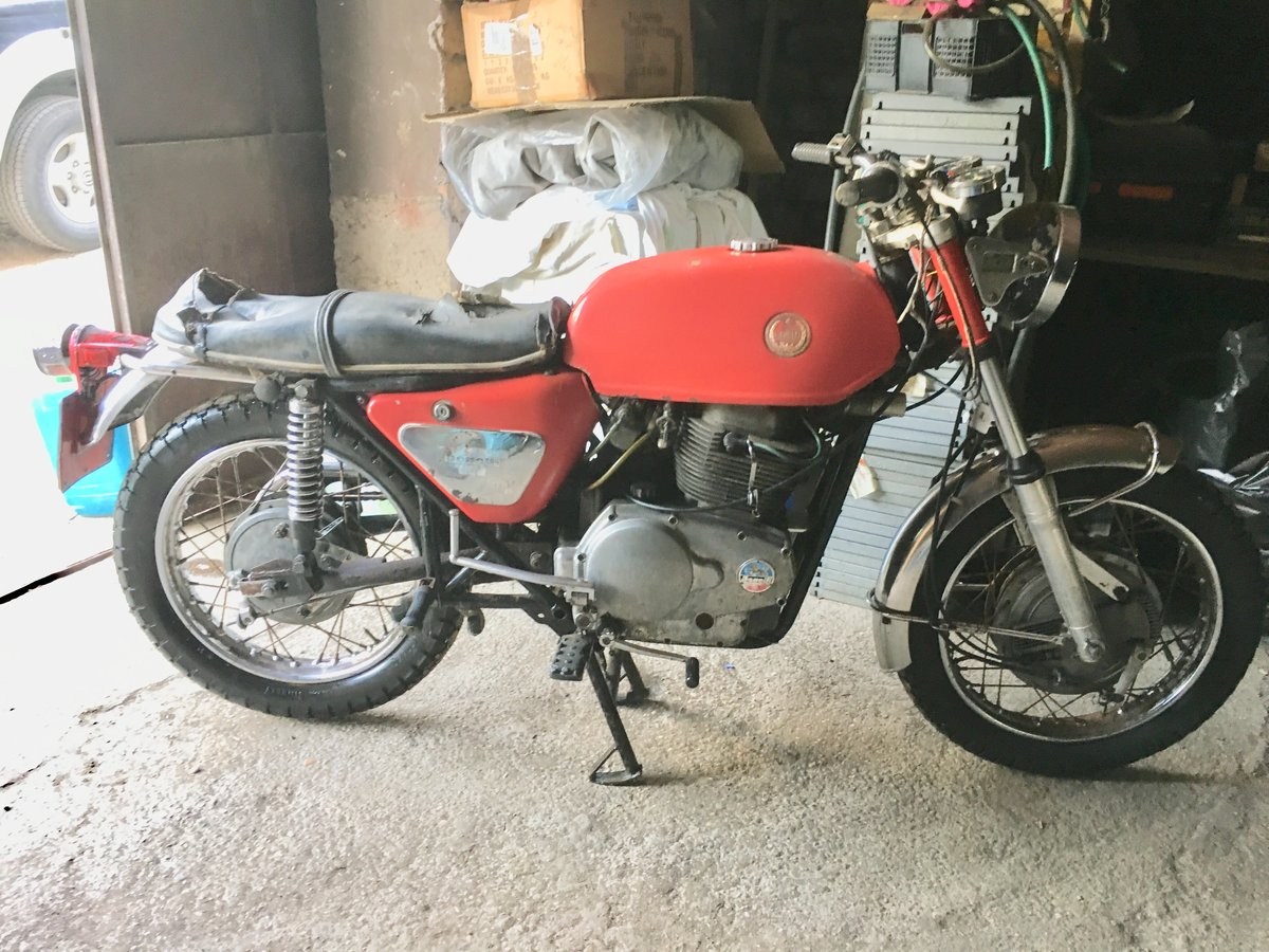 1970 benelli 650 tornado first serie SOLD (picture 2 of 4)