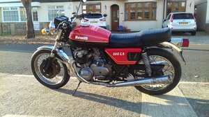 Benelli LS 500 1977 [Project with Engine Running]  For Sale