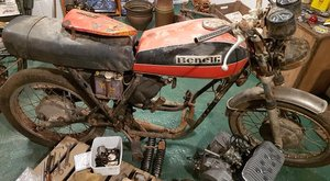 1976 Benelli 2C 125cc Project bike