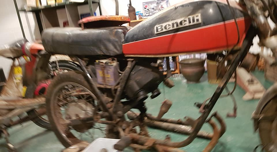1976 Benelli 2C 125cc Project bike For Sale (picture 3 of 6)