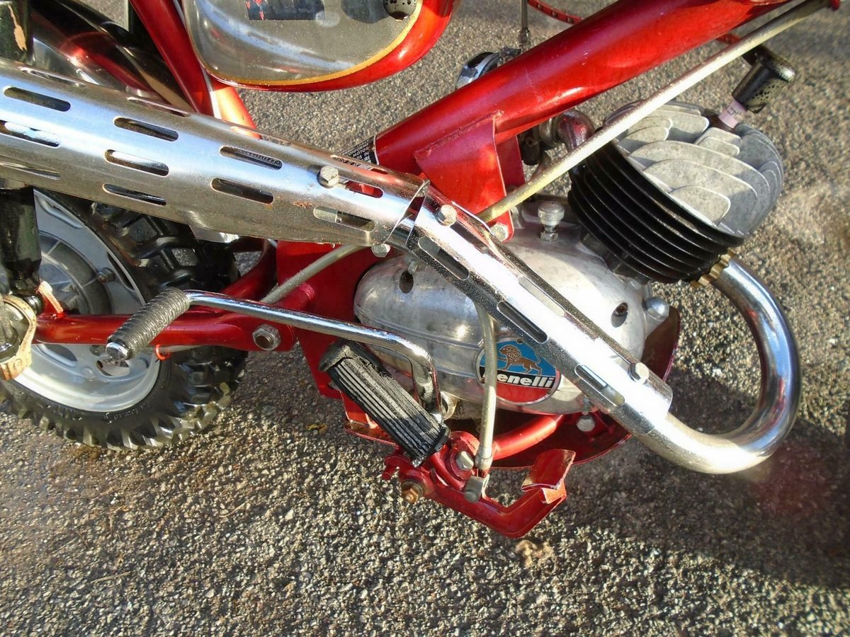 BENELLI 50cc MINI/MONKEY BIKE (1970) MET RED! VERY RARE! EXC SOLD (picture 5 of 6)