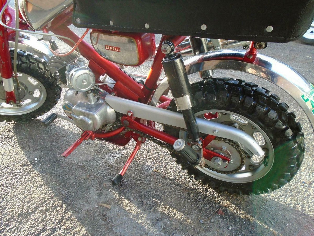 BENELLI 50cc MINI/MONKEY BIKE (1970) MET RED! VERY RARE! EXC SOLD (picture 6 of 6)