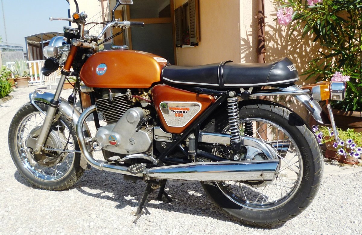 1971 Benelli 650 Tornado ES For Sale (picture 5 of 6)