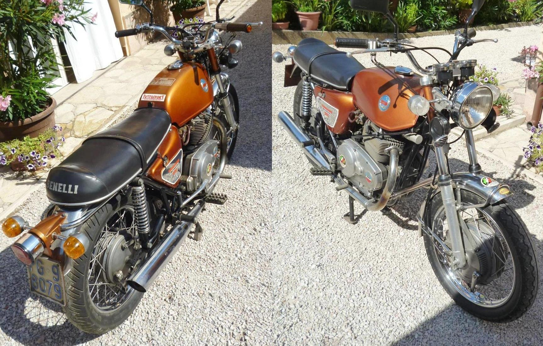 1971 Benelli 650 Tornado ES For Sale (picture 3 of 6)