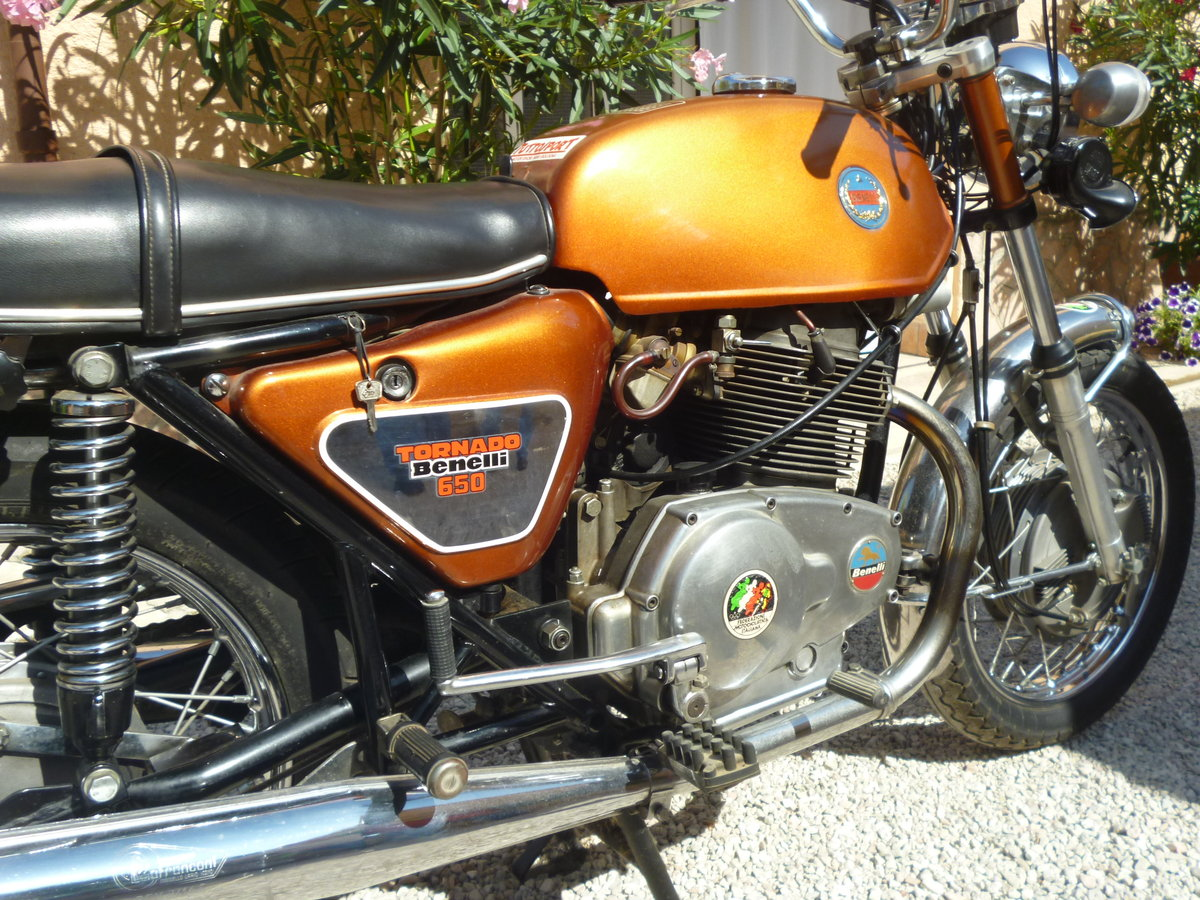 1971 Benelli 650 Tornado ES For Sale (picture 6 of 6)