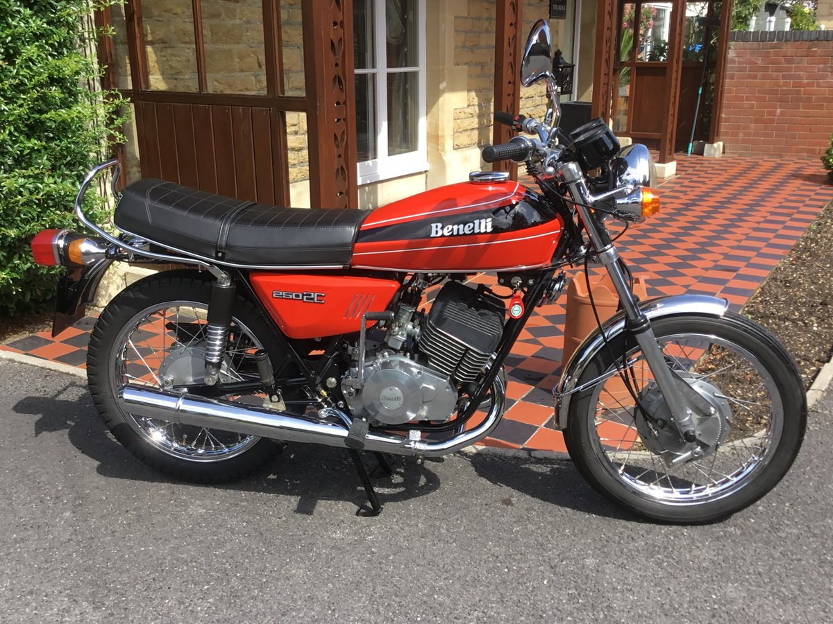1977 Benelli 250 2C, absolutely beautiful! For Sale (picture 1 of 6)
