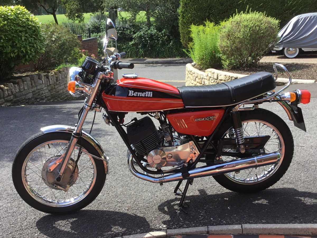1977 Benelli 250 2C, absolutely beautiful! For Sale (picture 2 of 6)